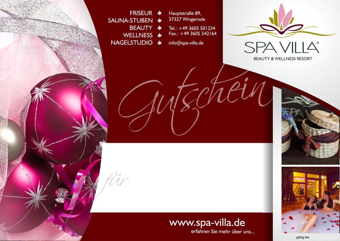 Winter-Traum - Wellnesshotel Thüringen: SPA VILLA - Beauty ...