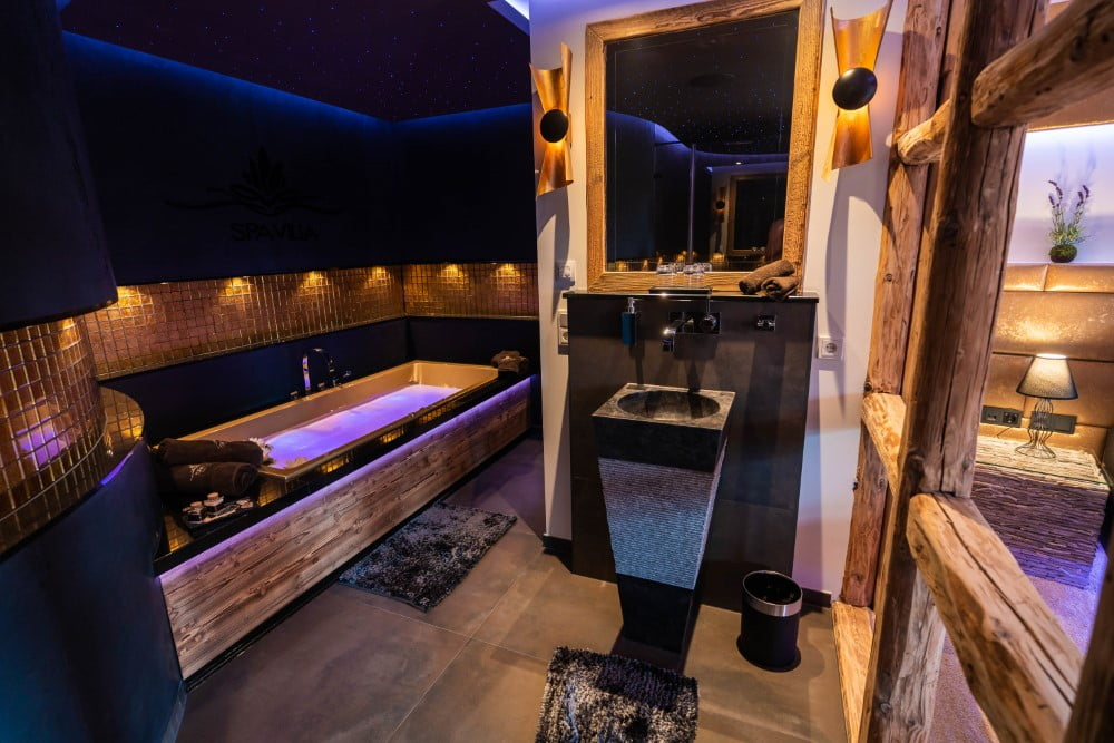 Luxus-SPA-Suite Goldtraum